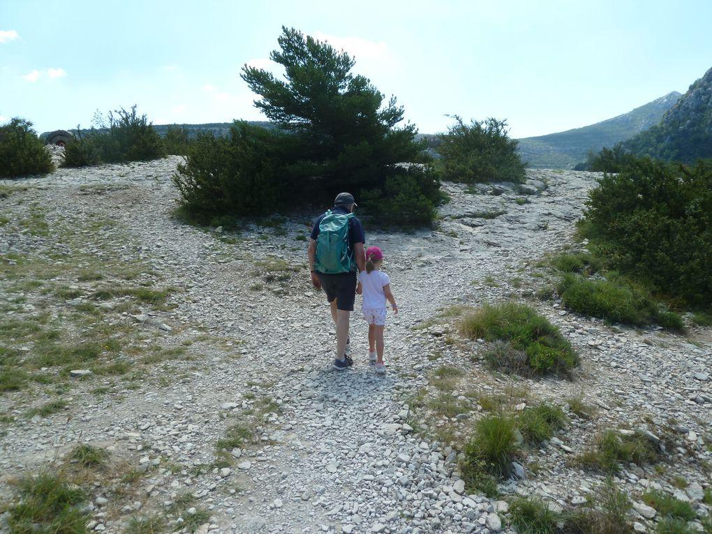 Mini randonnée au-dessus des Gorges du Verdon.