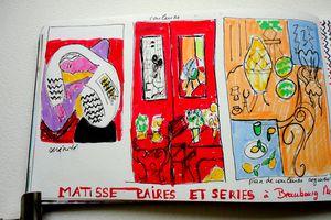 Matisse , les paires à Beaucourg