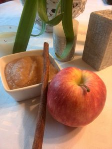 compote pomme cannelle