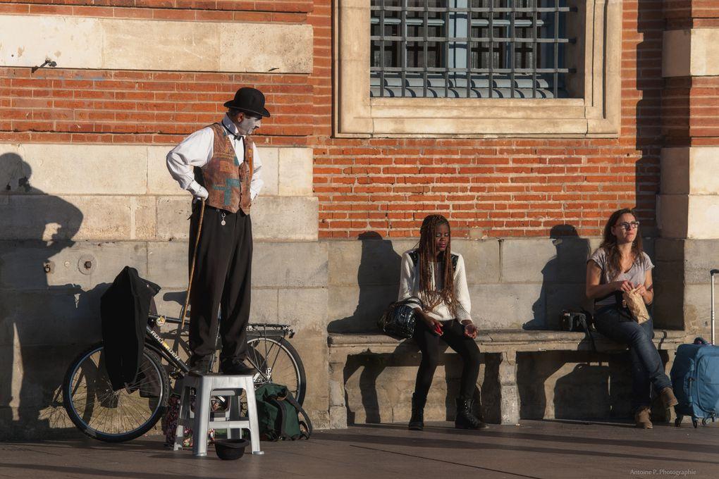 Jour de Novembre à Toulouse