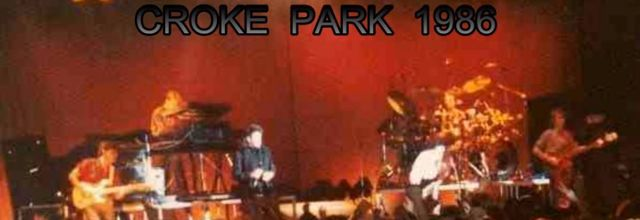 Bono & Simple Minds -Croke Park - Dublin -Irlande -28/06/1986