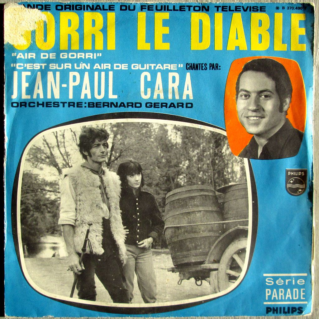 "Jean-Paul Cara - B.O. du feuilleton TV "" Gorri le diable"""