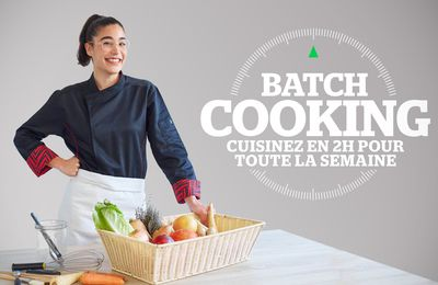 "Justine Piluso (Top Chef) aux commandes de ""batch Cooking"" dès le 15 novembre sur téva"