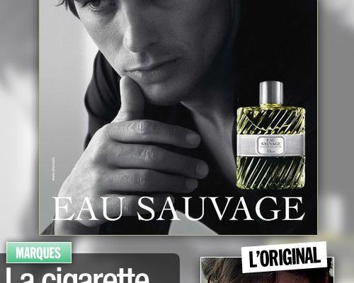 La cigarette d'Alain Delon gommée par Dior !