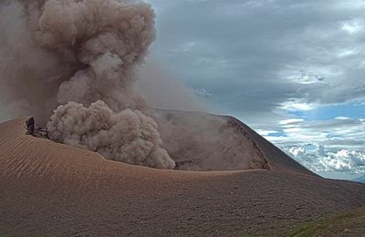 News from Telica, Semeru, Sangay and Piton de La Fournaise.