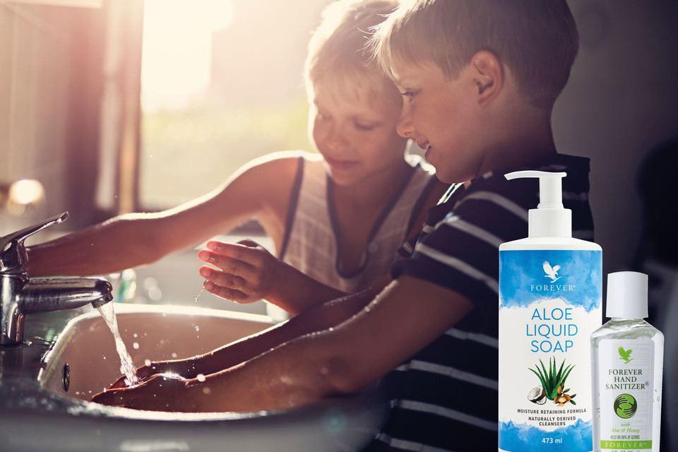 Se laver les mains correctement