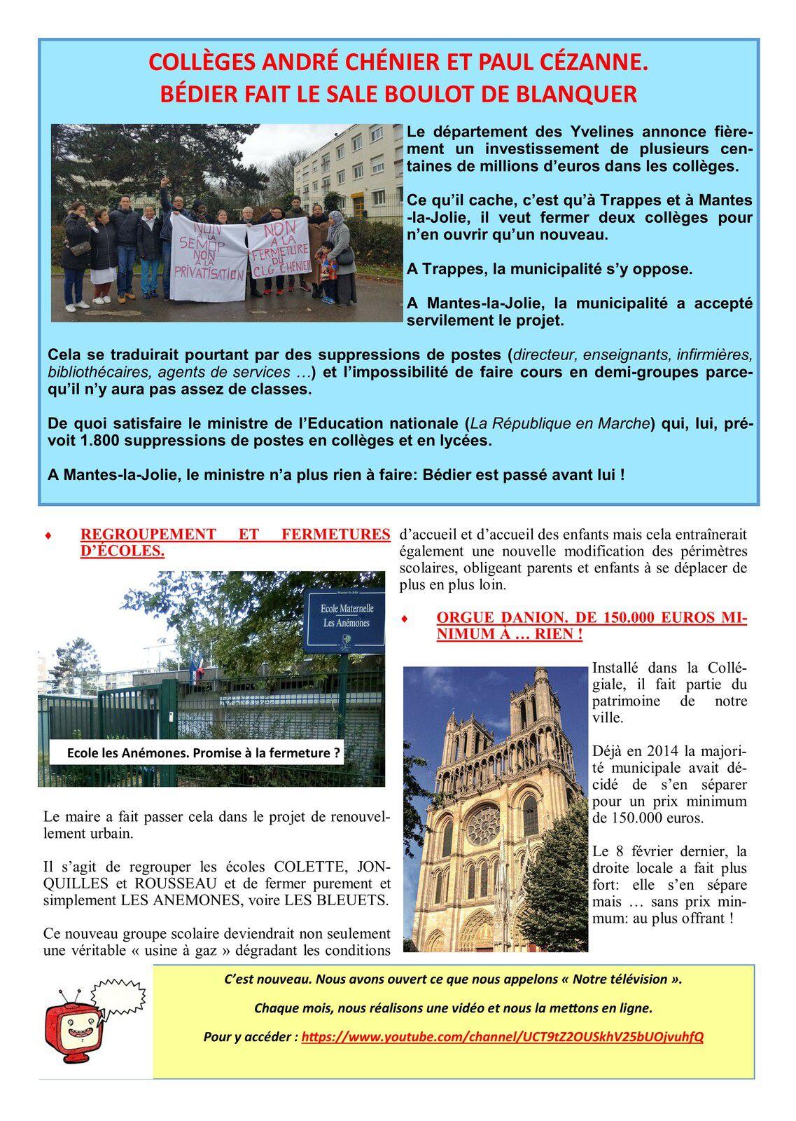 Vivre mieux à Mantes-la-Jolie. Notre bulletin d'informations municipales