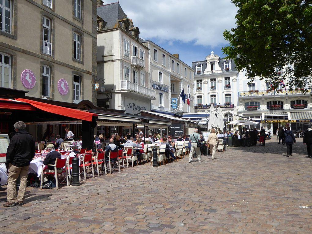 Promenade à Saint-Malo, mai 2015.