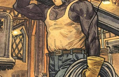 Handsome …. and jacked !  by Juanjo Guarnido, Tome 6 Blacksad
