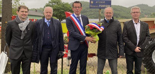 [Fête nationale] Hommage au président Pompidou