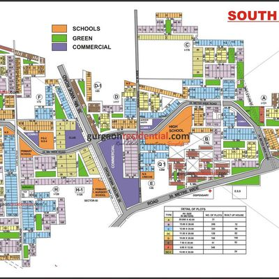 plots for sale in South city 2 gurgaon :9873498205