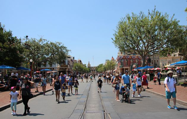 Main Street U.S.A., Disneyland Park (Californie)