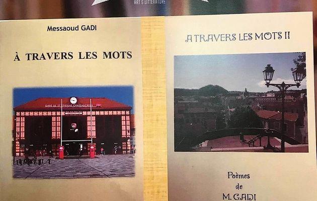 Messaoud Gadi en dédicace, vendredi 18 septembre 2020 à Rive-de Gier (42)