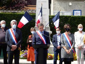 Cérémonie commémoration du 8 mai à St Ismier