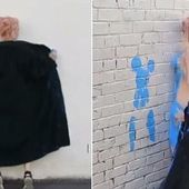 Artists cover naked bodies in paint in revealing Melbourne movement