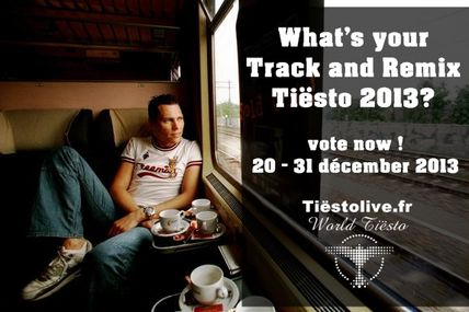 What's your Track and Remix Tiësto 2013 ? vote now ! #tiesto #poll #tiestolive