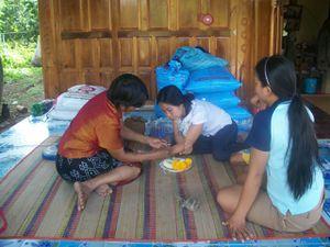Thaïlande : Chez la maman de Jum