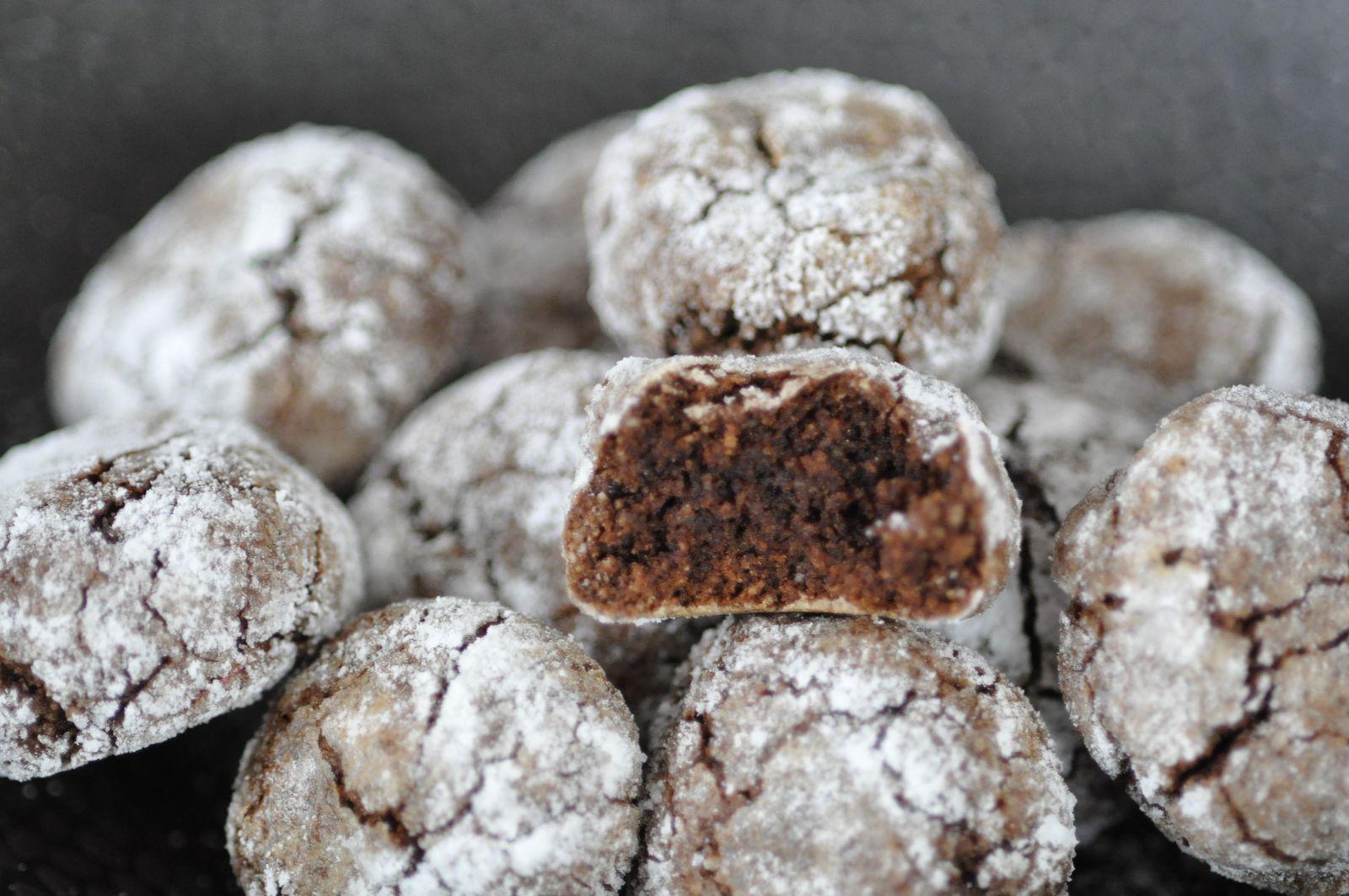Amaretti au chocolat