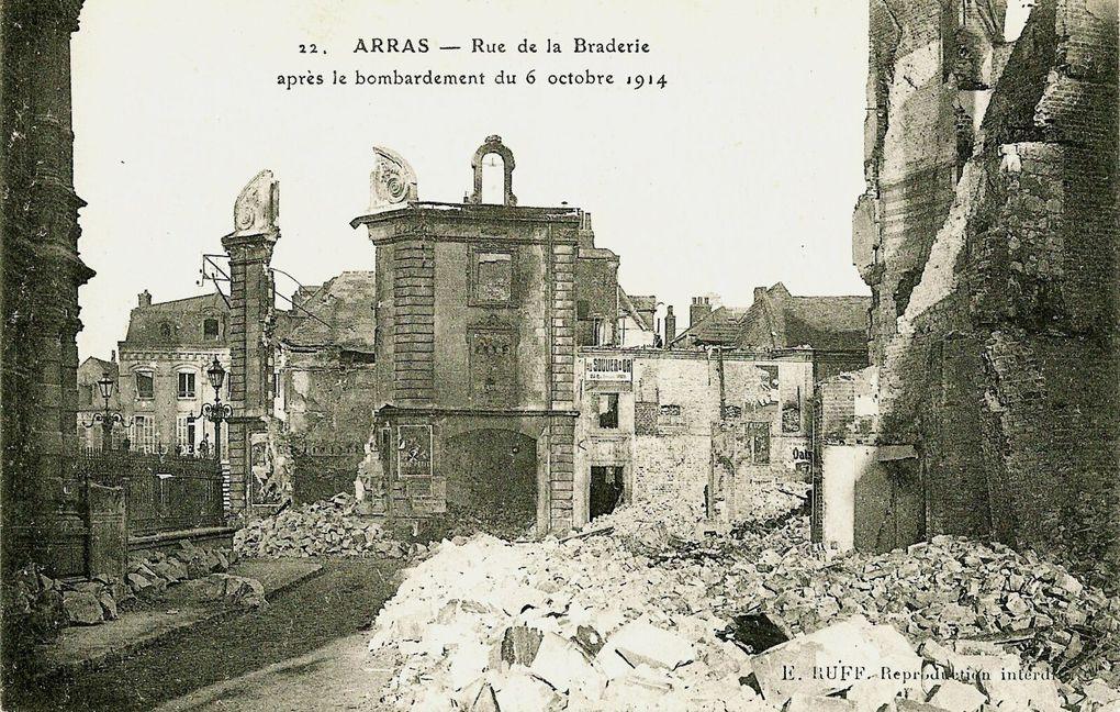 8 rue de la Braderie. Chantriaux et Poinsot, architectes, d'après un plan de Pierre Paquet, 1926. (carte postale, source : collection de Noël-Jean Plouhinek)