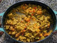 Colombo végétarien, recette du mois d'avril