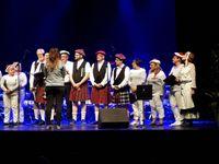 Vendredi 19 octobre 2018 au soir au Majestic pour le le concert de la Vogue des Noix offert par 4 sociétés musicales de Firminy: Tria'cte (CEMAF), les accordéonistes de l 'Ondaine, le Choeur de Kerzen (ANDM) et l'harmonie de l'Avenir Musical. Très belle soirée présentée par Jean Marc Defour et André Limousin.