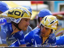 Quelques coureurs du Tour du 7 Juillet 2009 à Montpellier ...