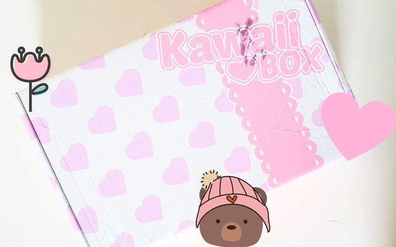 December Kawaii Box + Giveaway !