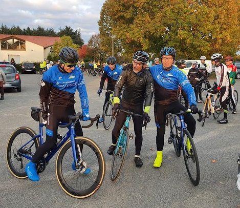 Laurent Salanson, Philippe Motane et Hugues Salanson.