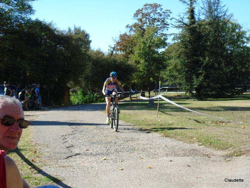Diaporama cyclo-cross de La Bachasse 13 octobre 2018