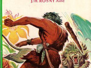 """J.-H. Rosny aîné """"Le Félin géant"""" (Hachette, La Bibliothèque Verte) [1956 / 1958]"""