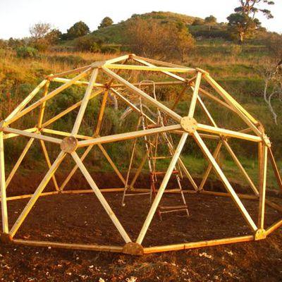 Pratique - Comment construire un dôme géodésique.