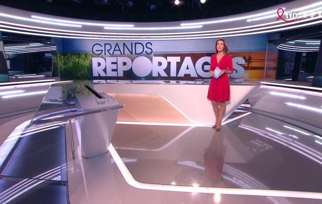 📸8 ANNE-CLAIRE COUDRAY @ACCoudray @TF1 GRANDS REPORTAGES ce midi #vuesalatele