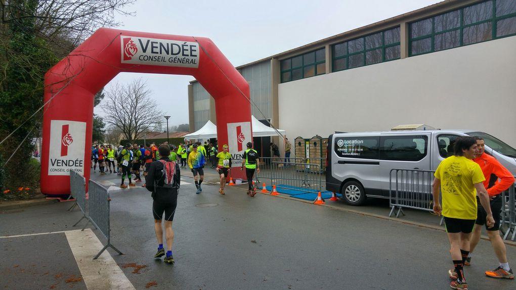 Résultats 9 et 25km Trail Pouzaugeais 2017