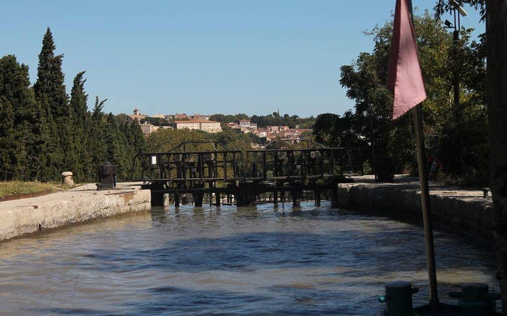 Béziers et le canal du Midi