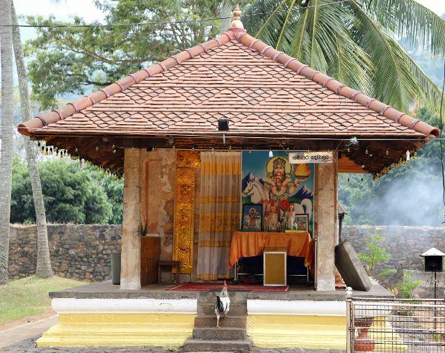 Kandy temple dent sacrée extérieur - Sri Lanka