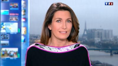 2013 01 05 - ANNE-CLAIRE COUDRAY - TF1 - LE 13H @13H00