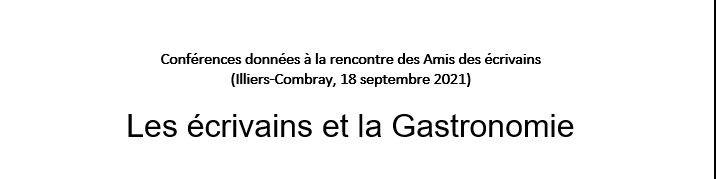 Le programme détaillé des conférences données le samedi 18 septembre dans le théâtre de verdure