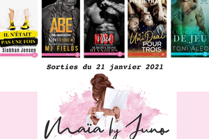 Parutions Juno Publishing du 21 janvier 2021 (MF)