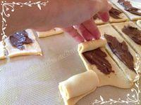 Brioche bouchons au chocolat