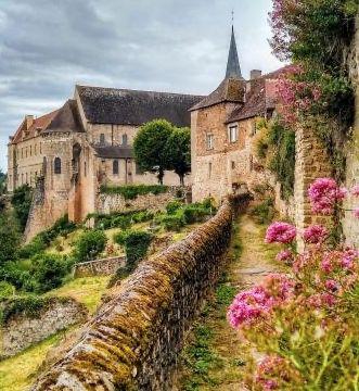 ...Sur la Route de Saint-Benoit - Delloly