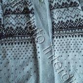 tuto gratuit :fermer au tricot des épaules dégradées - Chez Laramicelle