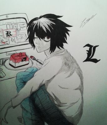 ▶L◀ (Death Note)