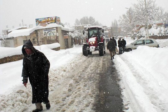 Algerie 2012 Le froid et la neige s abattent sur l Algerie Le Pèlerin