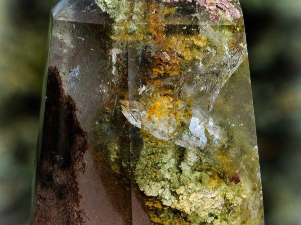 Quartz Chlorite from Madagascar (size: Miniature)