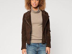 Des vestes en cuir véritable à 37 euros à C&A
