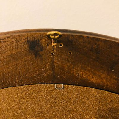 Miroir en bois années 50-60 vintage (Vendu)