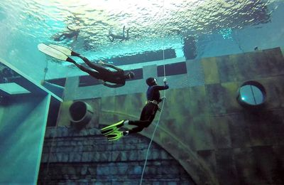 AIDA1, AIDA2 and AIDA instructor training in Duiktank Transfo!
