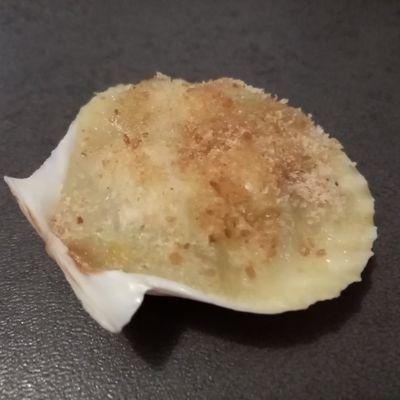 Coquilles de poisson gratinées aux poireaux de Cyril Lignac dans tous en cuisine
