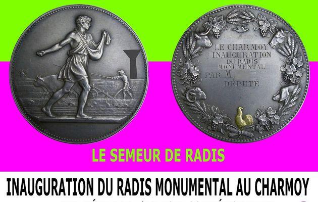 UN RADIS MONUMENTAL, C'EST POSSIBLE ! - du 26 OCTOBRE 2015 (J+2504 après le vote négatif fondateur)