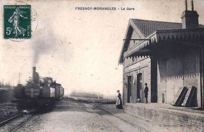 Ancienne Gare du Fresnoy-Morangles (Oise)-1